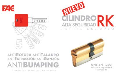 Los cilindros RK de FAC Seguridad son sinónimo de alta calidad y seguridad