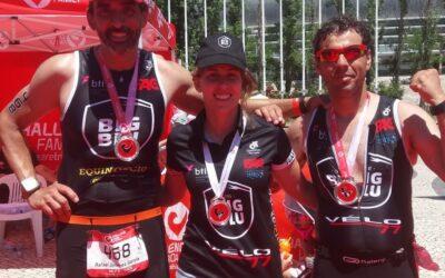 """TEAMH8GSPORT logra un segundo puesto en el Triatlón """"Challenge Lisboa"""""""