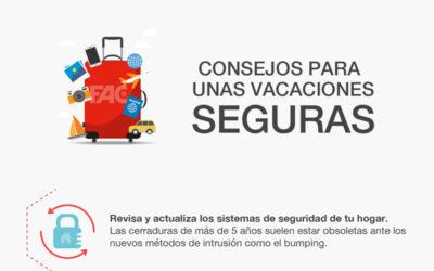 FAC Seguridad te propone 10 consejos para unas vacaciones seguras