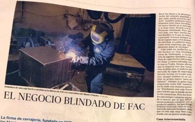 La apuesta por la innovación de FAC, en el diario El País