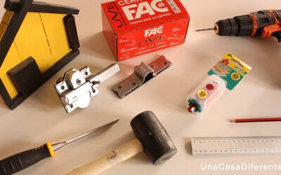 ¿Cómo poner un cerrojo FAC Seguridad?